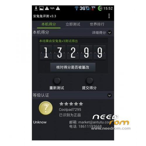 ROM CoolPad 7295 | [Custom] add the 04/29/2013 on Needrom