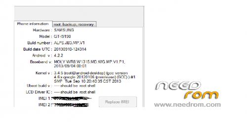 ROM 1:1 I9190 s4 mini MT6572 1350mb ram   [Custom] add the 11/26