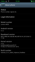 Lenovo A820 Android 4.2.2 clean Multilang *BETA*