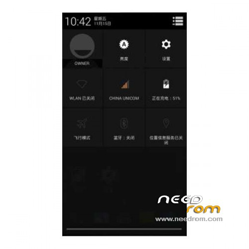 ROM Xiaomi MI2/2sS CM11   [Custom] add the 11/30/2013 on Needrom