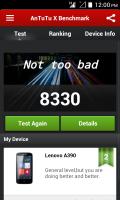 A390 Google Edition UI