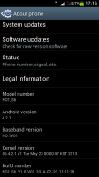 NO.1 S6 Official rom update