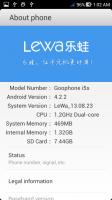 Lewa OS Goophone i5s