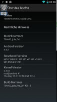 Android 4.4.2 (KitKat) for Tengda S5 G9000