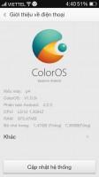GIONEE P4 – COLOROS UI V1.0.0I