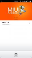 MIUI OTA updater for ported ROM ZOPO C2
