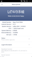 LeWa Os5.1 V14.06.06 For Oppo Find 5 Mini