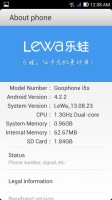 [ROM] Lewa OS v13.08.23 for Cloudfone 450D