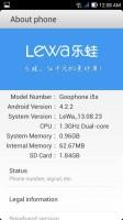 [ROM] Lewa OS v13.08.23 for Cloudfone 450D