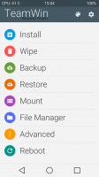 TWRP 2.8.1.0 Materialised Design (play)