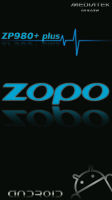 Black Boot Logo and Bootanimation ZOPO ZP980+plus