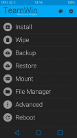 Recovery (TWRP) + beautiful Theme
