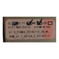 i5s A131MW MT6572