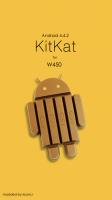 W450 KitKat