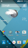 Android L for Advan S4+