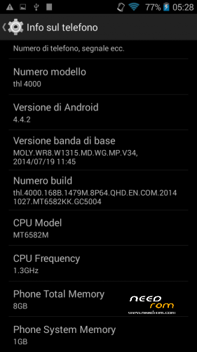 ROM THL 4000 CWM Recovery 5 5 0 4 | [Official] add the 12/10