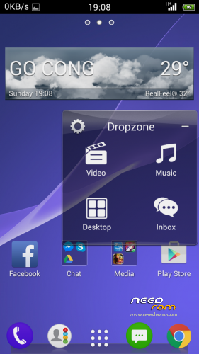 zte speed launcher has stopped handling and