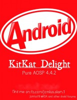 KitKat Delight Pure AOSP