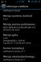 MyPhone H-smart stok rom