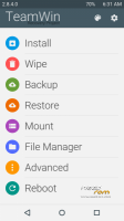 TWRP v2.8.4.0 Recovery Material Design