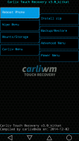 Carliv Touch Recovery v3.0 for Lenovo A936