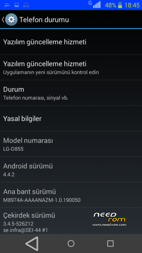 ROM MT6572 LG G3   [Official] add the 04/21/2015 on Needrom