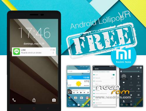 ROM Android Lollipop VR ::: VR15 1 PREMIUM ::: VR11 1 FREE