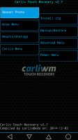 Carliv Touch Recovery v2.7