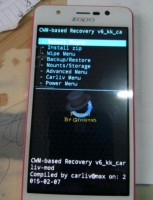 CWM Recovery for zp330