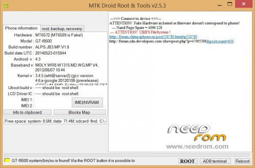 Stock MT6572 (MT6589 is Fake!) NAND version…  100% Fully
