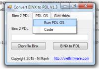 Tool convert Sky Pantech firmware Binx To PDL