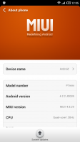 Elephone P7 Mini MIUI 5 v4.8.29