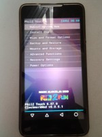 MyPhone Rio 2 Fun Philz Touch Recovery
