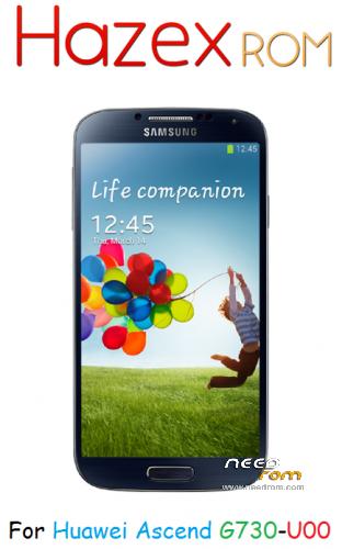 کاستوم رام گلگسی اس 4 برای Custom S4 UI ROM For Huawei Ancend G730-U00