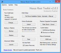 Nexus Root Toolkit v2.0.5