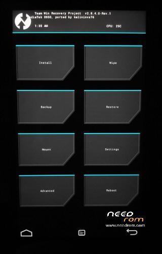 ROM TCL Idol X TWRP Recovery | [Custom] add the 11/19/2015 on Needrom