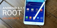 How to root samsung galaxy Note 4 n910f under 5.1.1 rom Lollipop