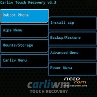 Recovery Carliv Touch CWM