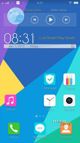 ROM Vivo Funtouch OS 2 0   [Custom] add the 12/25/2015 on