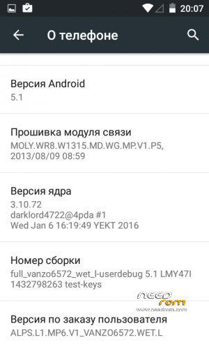 ROM Android 5 1 for alcatel OT4033   [Custom]-[Updated] add the 01
