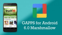 Gapps for Marshmallow 6.0