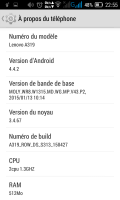 Lenovo A319 Best ROM (Stable OS)