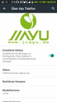 Jiayu S3 RC4 (released  jan. 2016 by JIAYU / Germany)