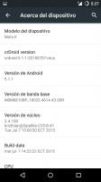 Rom crDroid Moto E 2015 xt 1506 otus