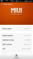 Lenovo A850I MIUI V5 Brush Pack stabe and smooth