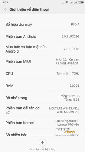 ROM Miui Global 7 2 3 0_LHMMIDA Xiaomi Redmi note 2 port for P70
