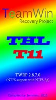TWRP Recovery 2.8.7.0, THL T11