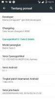 CM 12 BETA 5 UPDATE BASE FROM REDMI NOTE 2 By Risma Ermaya
