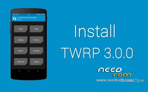 ROM [MT6735] TWRP Recovery 3 0 P6 Pro | [Official]-[Updated] add the