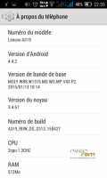 Lenovo A319 (New stable 100%)